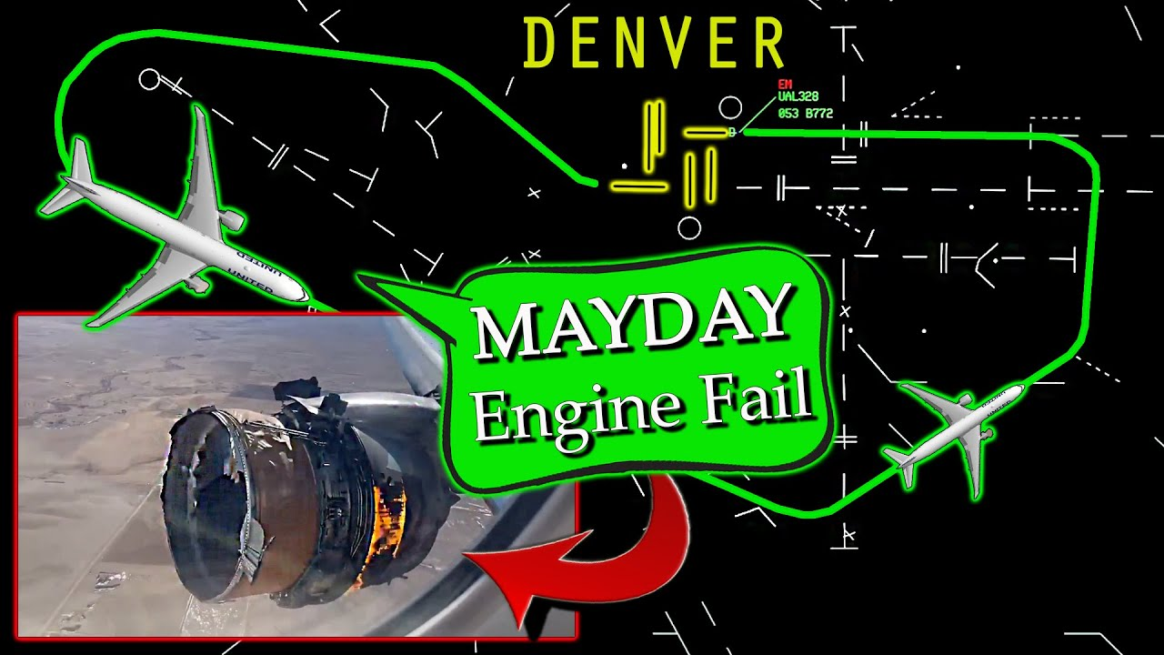 United B777 has ENGINE FAILURE+FIRE on departure | Cowling Separates