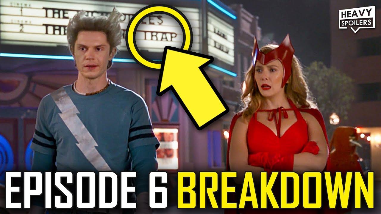 WANDAVISION Episode 6 Breakdown & Ending Explained Spoiler Review | Marvel Easter Eggs & Theories