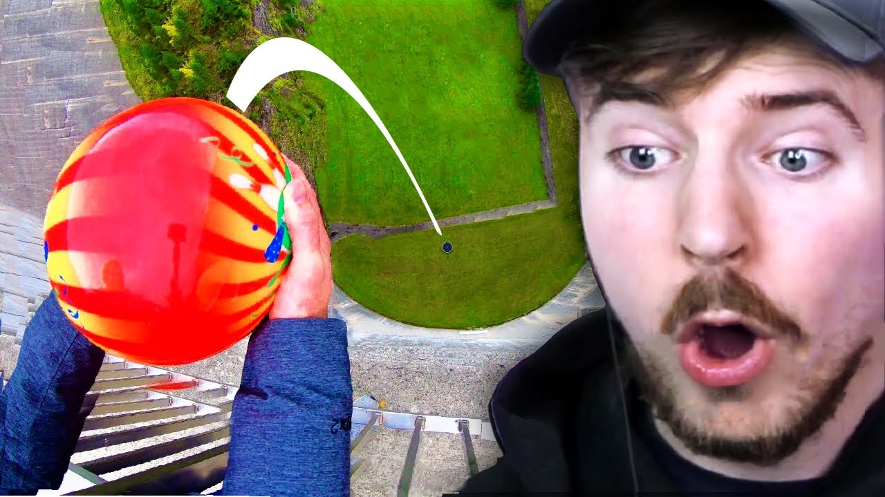 Bowling Ball vs 600 Feet Drop!