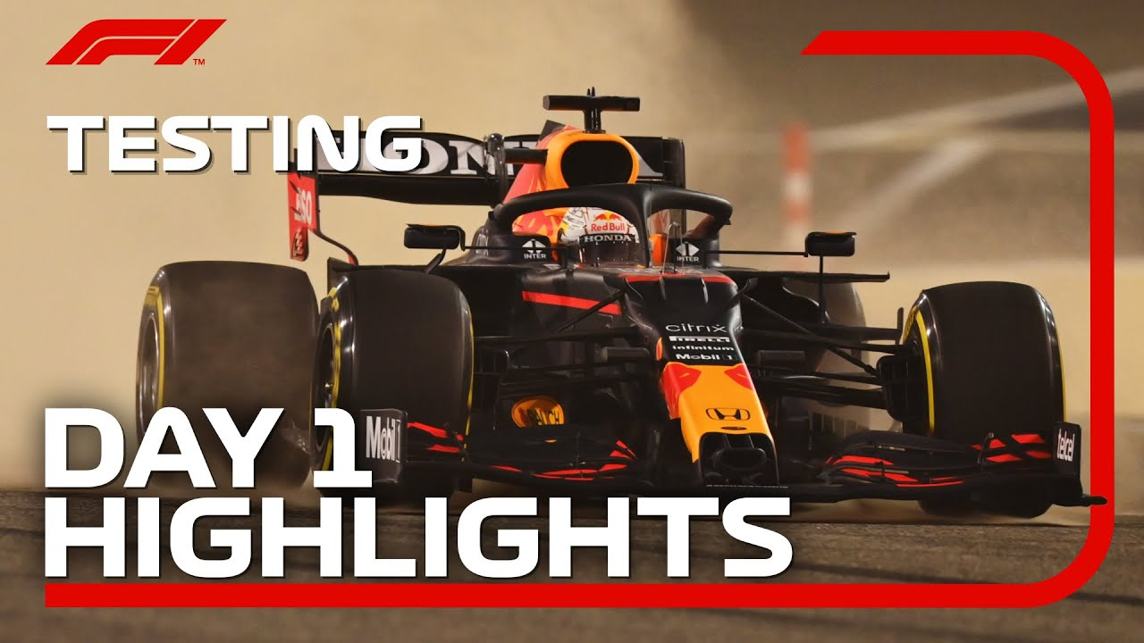 Day 1 Highlights | 2021 Pre-Season Testing