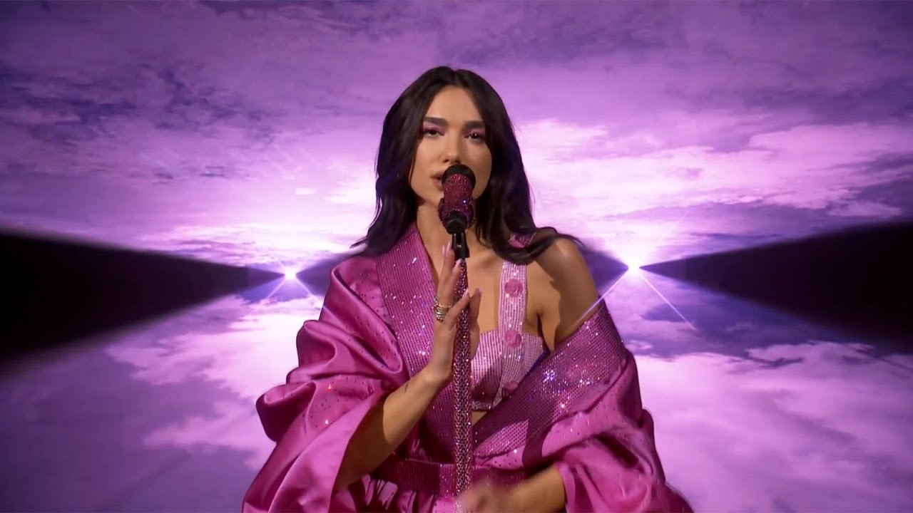 Dua Lipa – Levitating ft. DaBaby / Don't Start Now (Live at the GRAMMYs 2021)