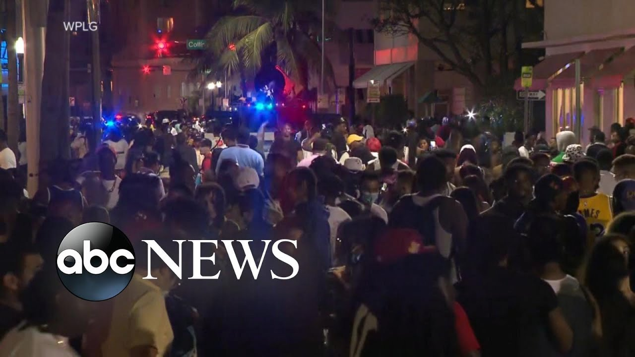 Hundreds of people defy Miami Beach curfew orders