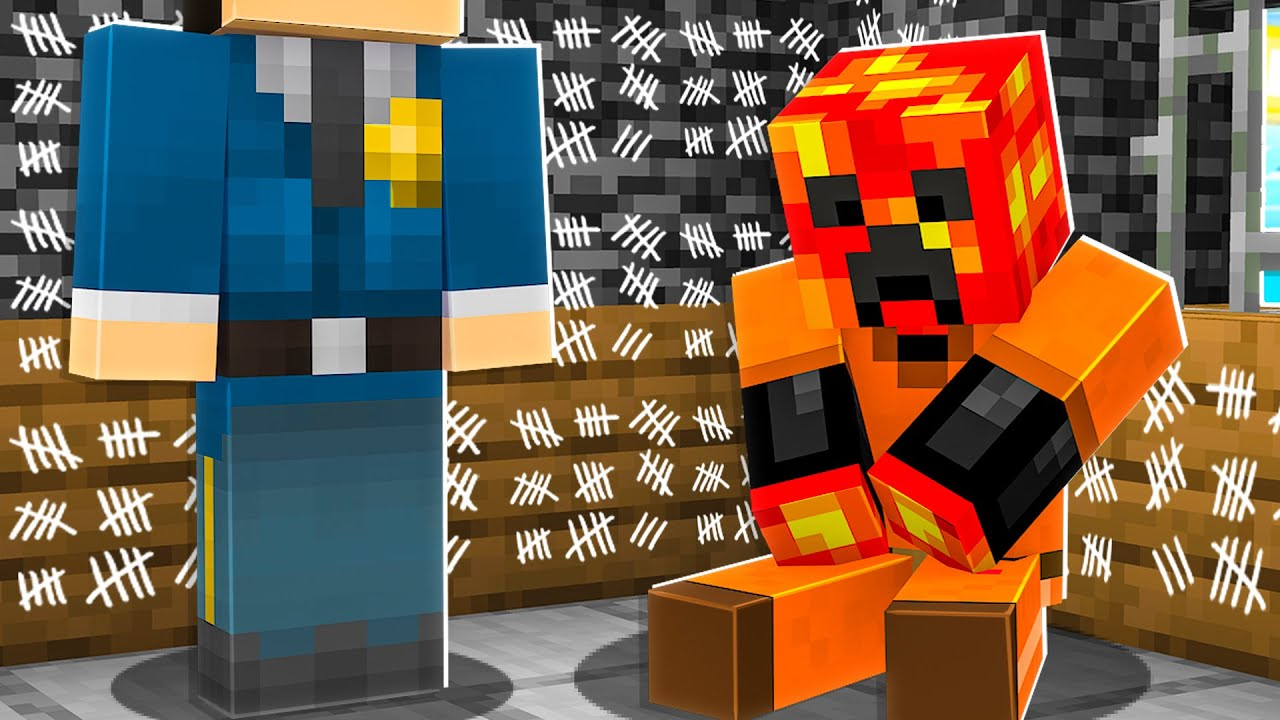 I Survived 300 Days in Minecraft Prison… *trapped*