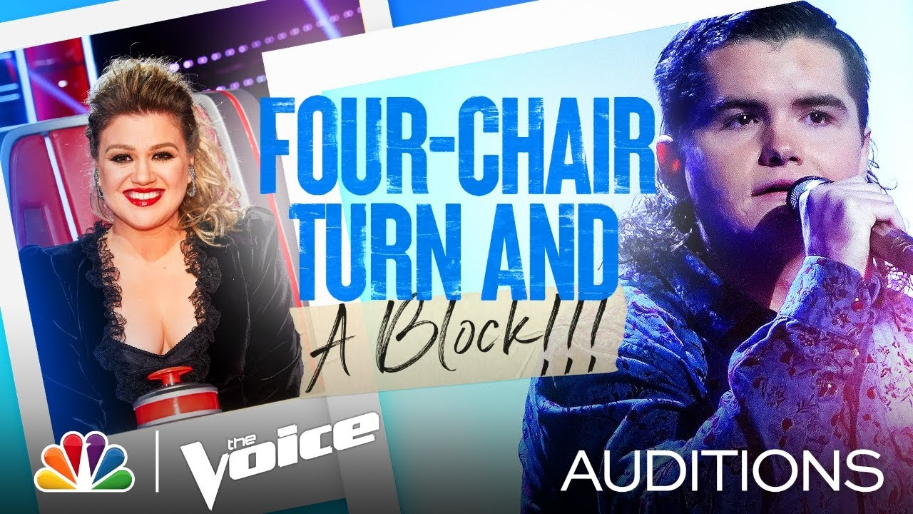 """Kenzie Wheeler's Four-Chair Turn Performance: """"Don't Close Your Eyes"""" – Voice Blind Auditions 2021"""