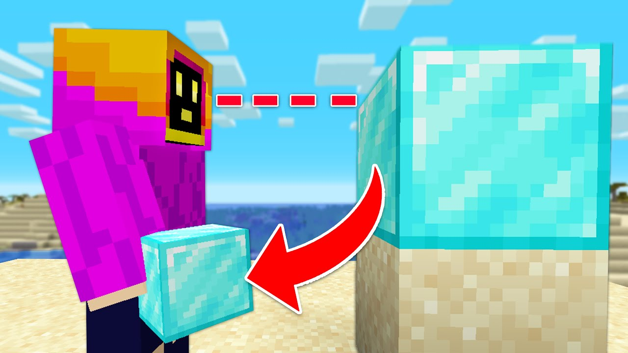 Minecraft But, I Get Every Block I Look At!