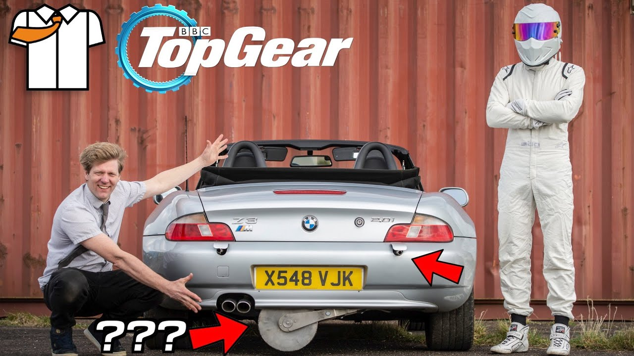 More Gadgets More Fire Top Gear Bond Car Build Part 2