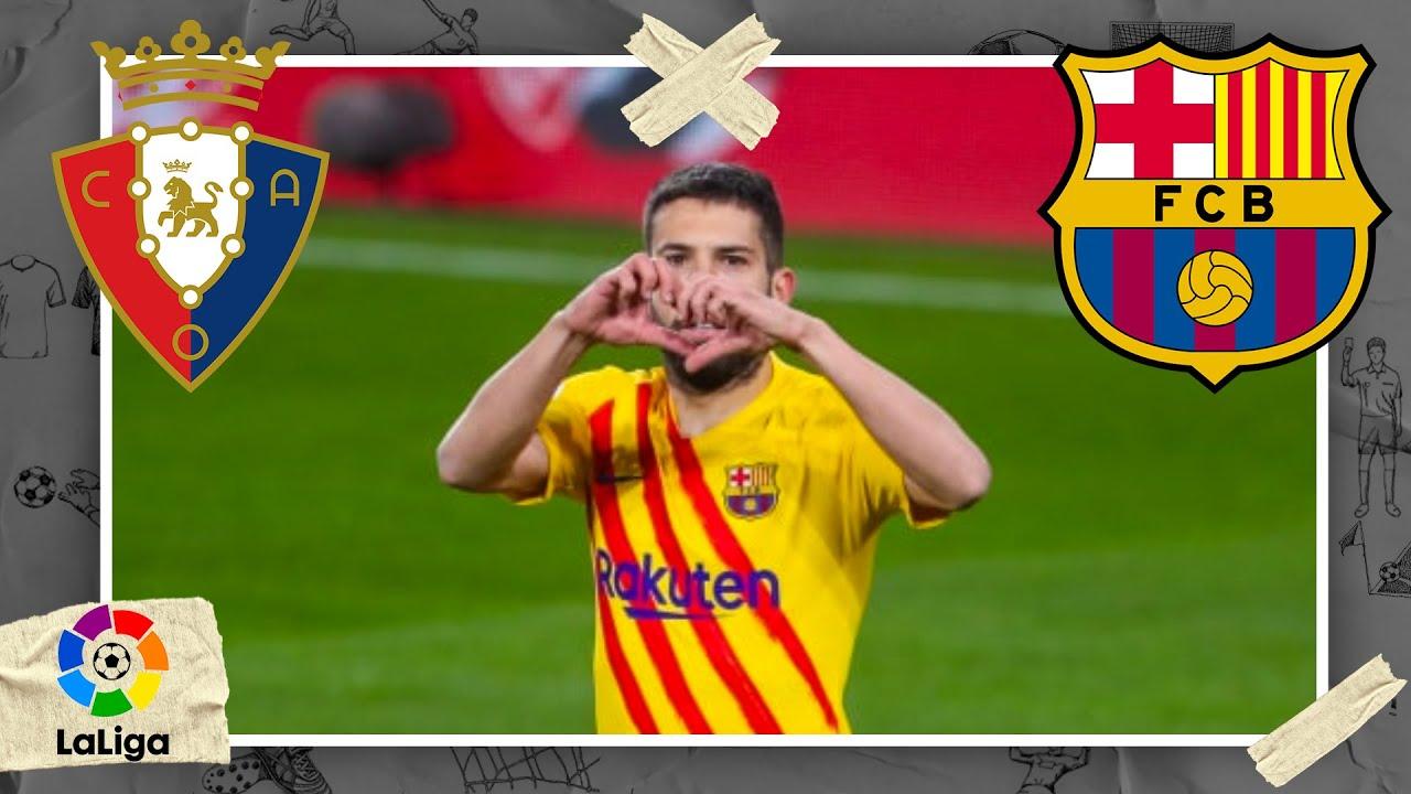 Osasuna vs FC Barcelona   LALIGA HIGHLIGHTS   3/6/2021   beIN SPORTS USA