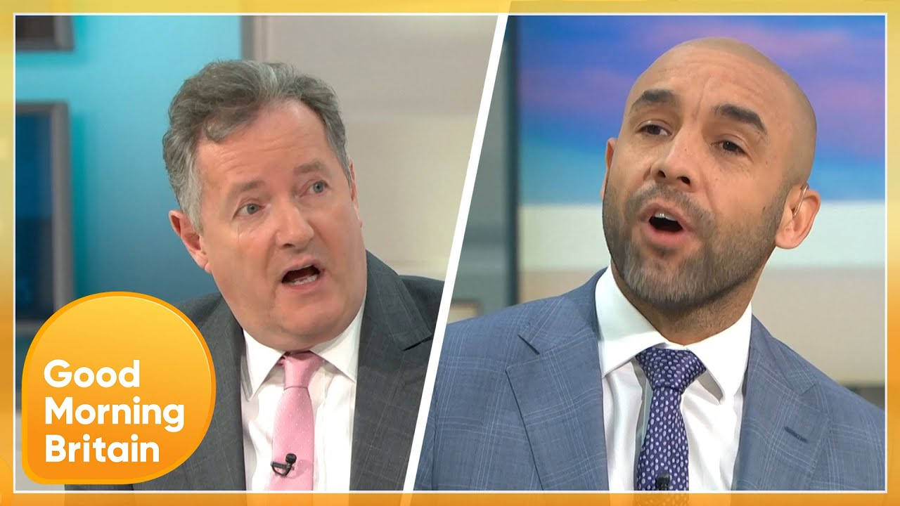 Piers and Alex Clash Over Prince Harry and Meghan's Accusations of Racism | Good Morning Britain