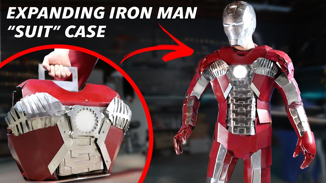Real Iron Man Expandable Briefcase Suit – FULL METAL!! (Iron Man Mark 5 Armor)