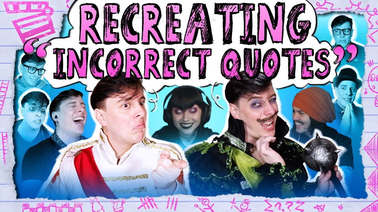 Recreating Sanders Sides INCORRECT QUOTES! – We Take Requests   Thomas Sanders & Friends