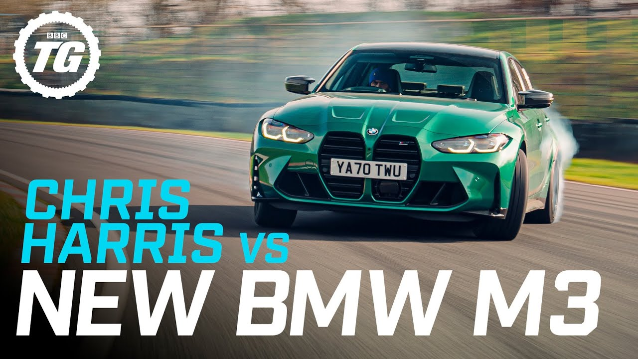 Review: Chris Harris drives the new BMW M3 | Top Gear