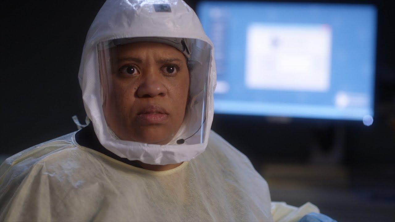 Richard Tells Bailey About DeLuca – Grey's Anatomy