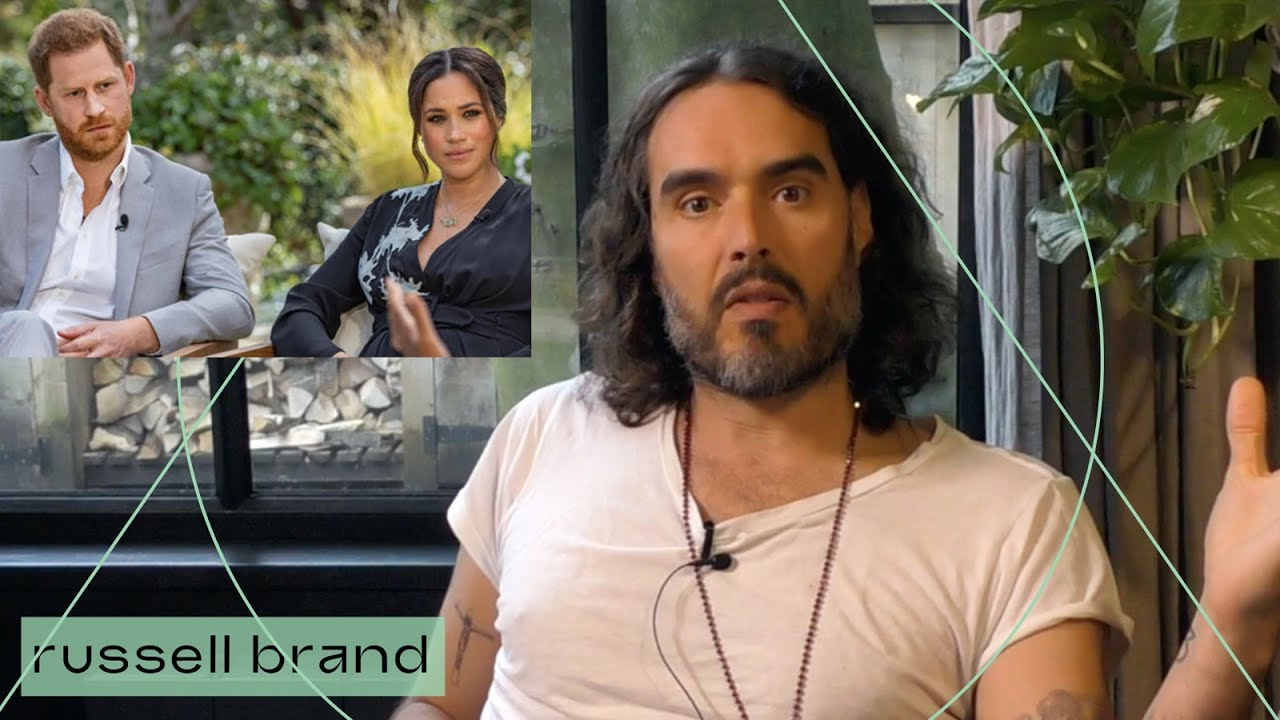 Russell Brand Reacts To Meghan & Harry Interview