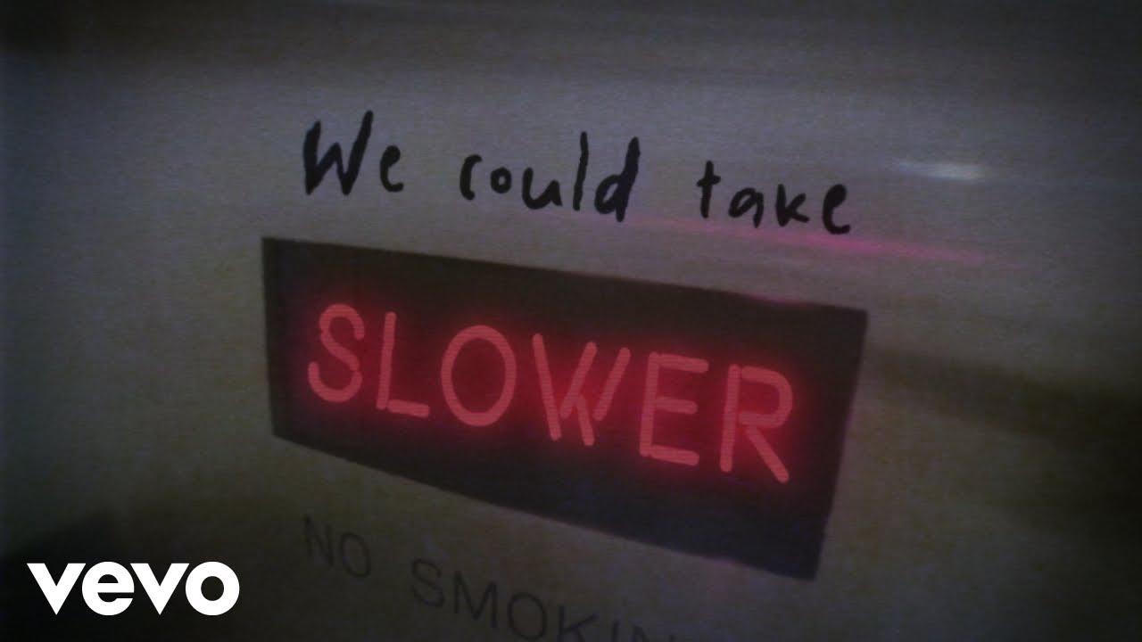 Tate McRae – slower (Lyric Video)