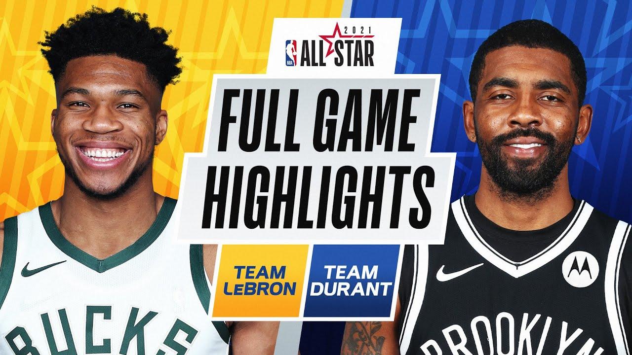 #TeamLeBron vs. #TeamDurant   FULL GAME HIGHLIGHTS   2021 #NBAAllStar
