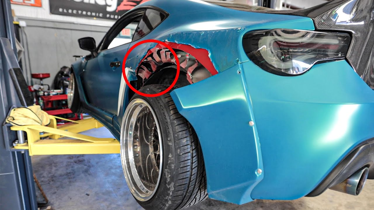 Uncovering Hidden Damage from my Newly-Bought Widebody FRS….