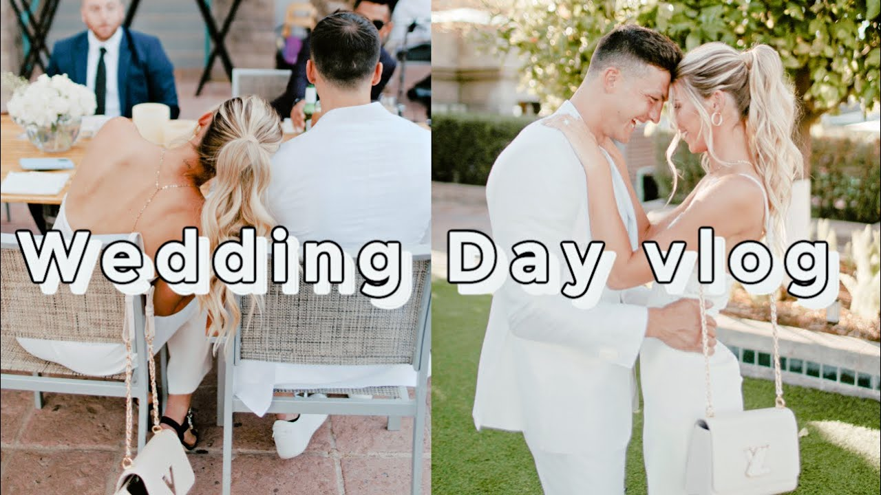 Wedding Day Vlog! Getting Ready!