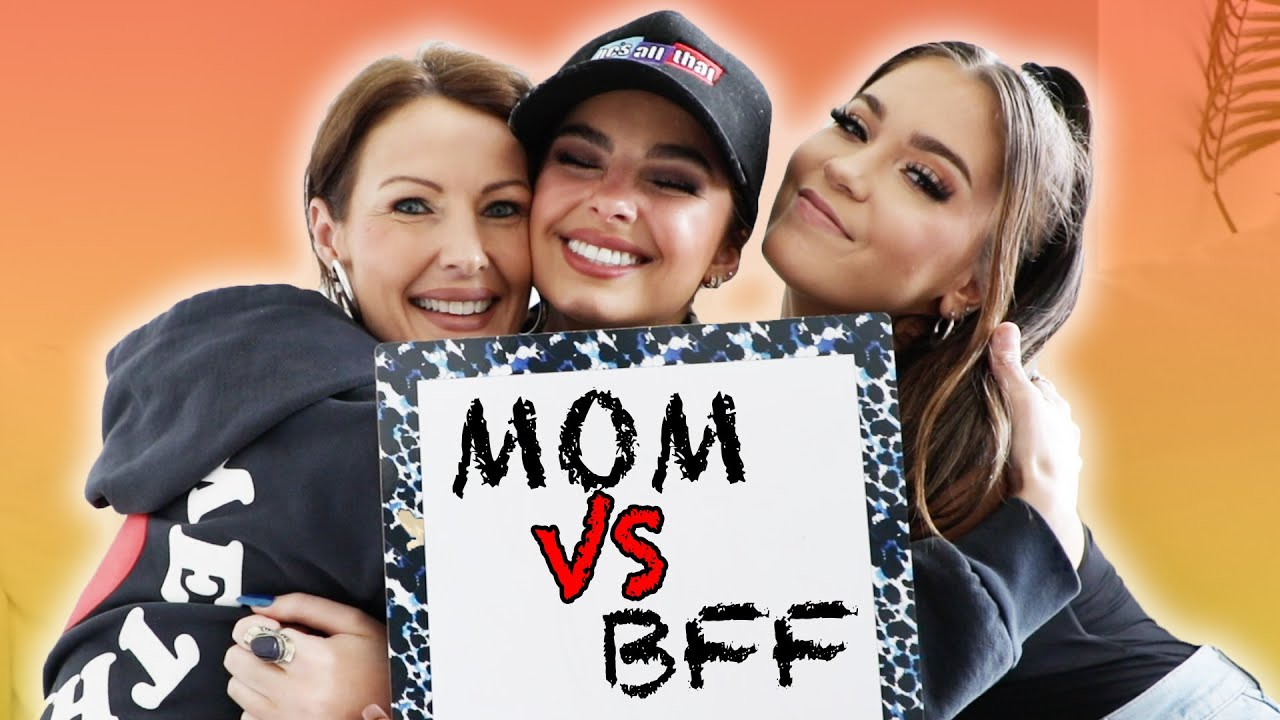 Who Knows Me Better? MOM VS BFF | Addison Rae