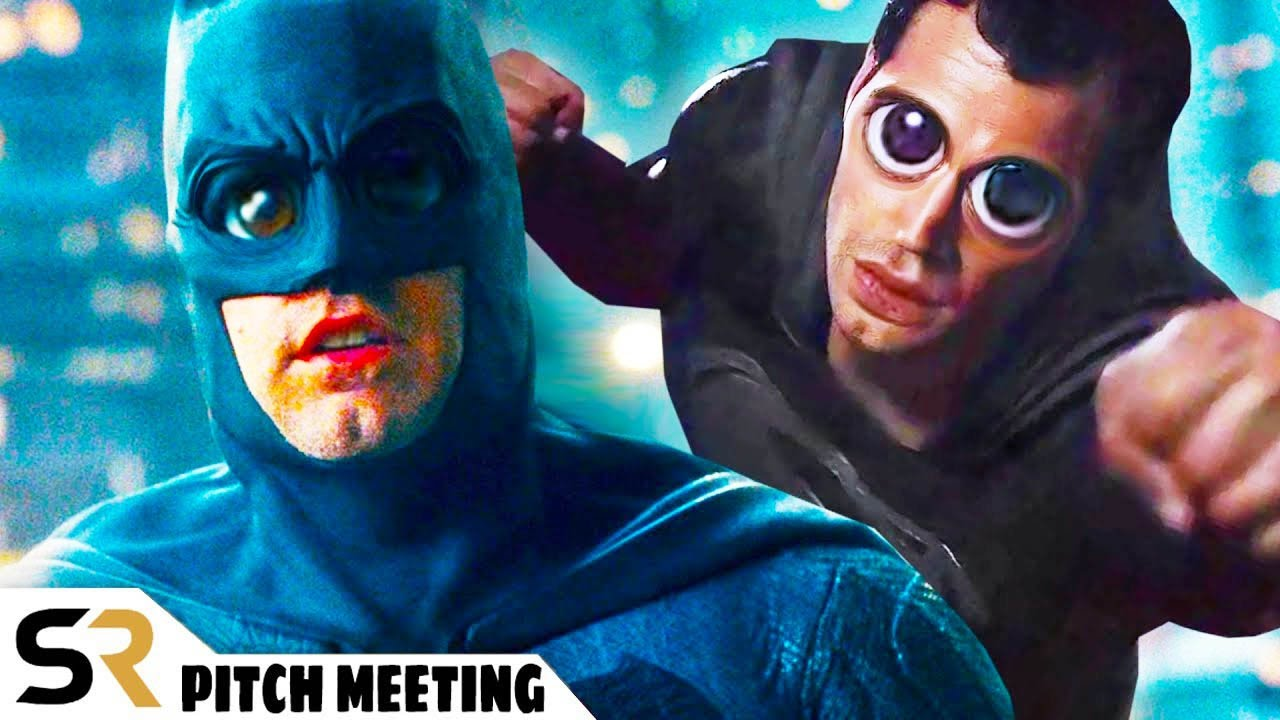 Zack Snyder's Justice League Pitch Meeting