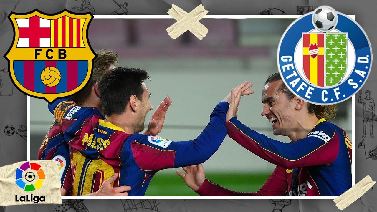 Barcelona vs Getafe   LA LIGA HIGHLIGHTS   4/22/2021   beIN SPORTS USA