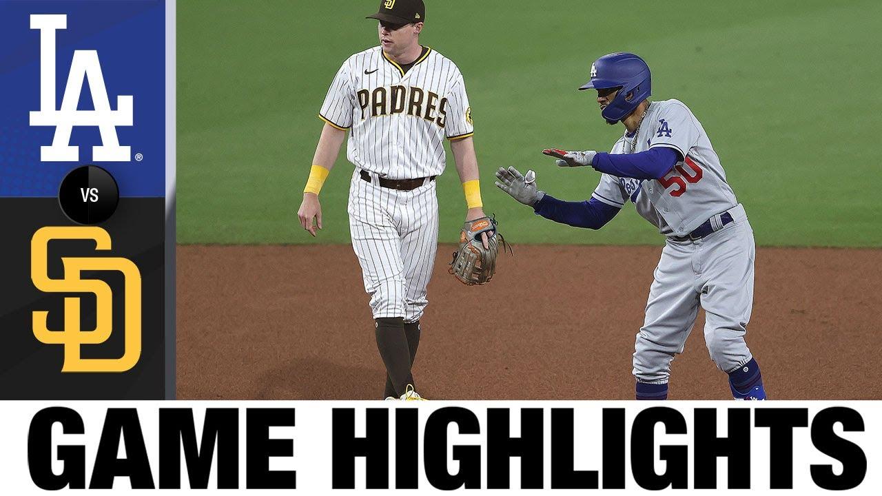 Dodgers vs. Padres Game Highlights (4/17/21) | MLB Highlights