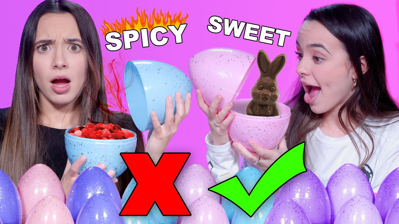 Don't  Choose The WRONG Mystery Egg Challenge – Merrell Twins