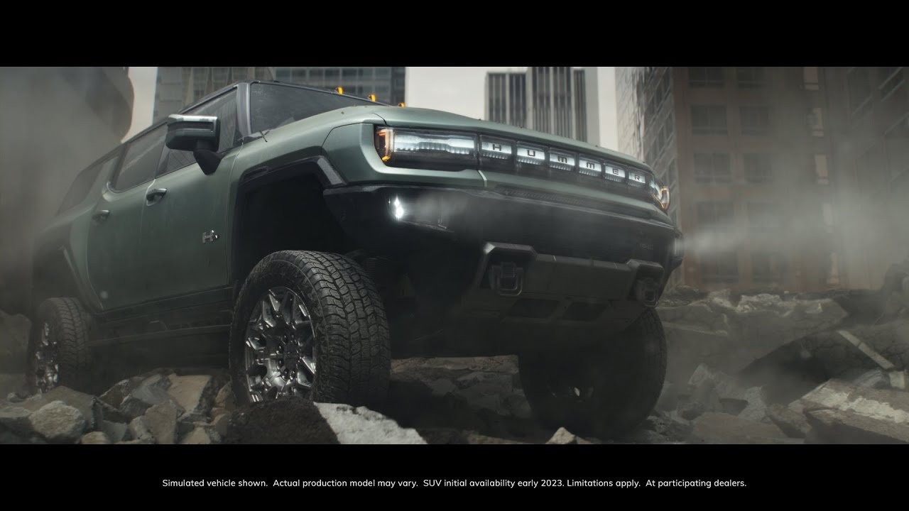 GMC HUMMER EV SUV | THE NEXT ALL-ELECTRIC SUPERTRUCK | GMC