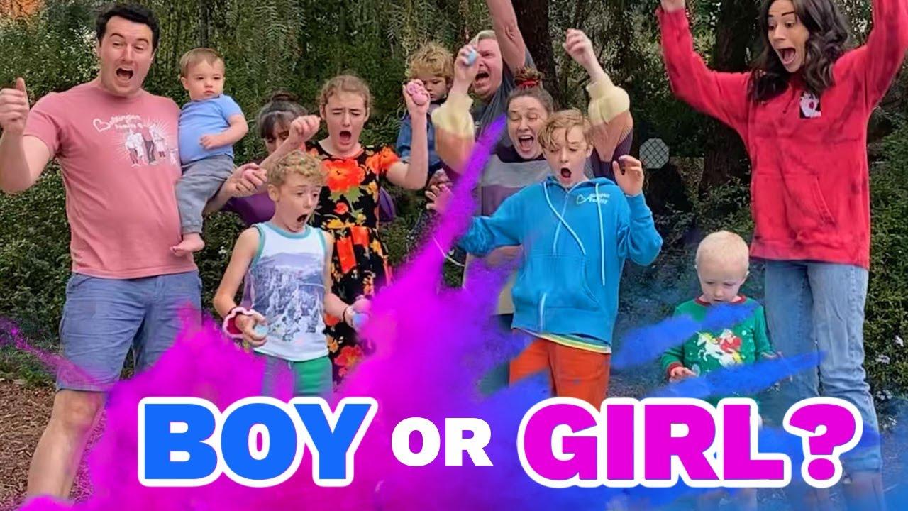 Gender Reveal! Boy or Girl?