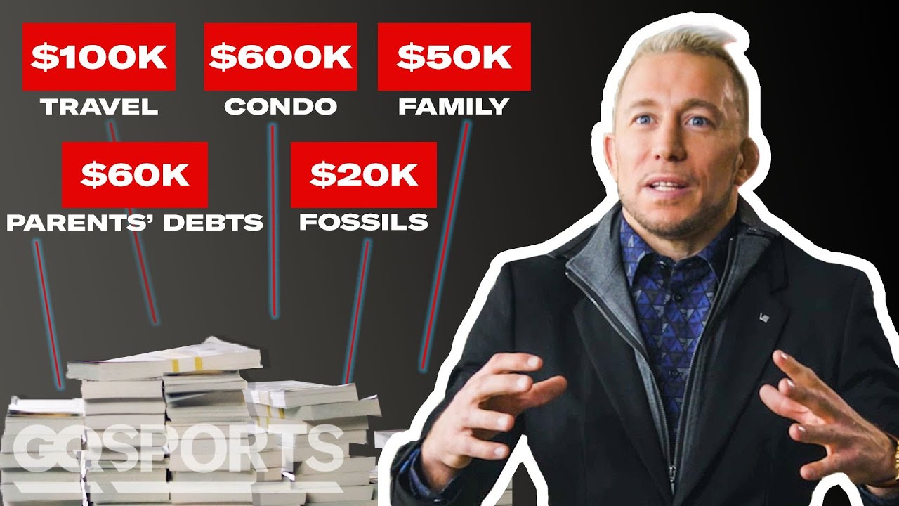 How Georges St-Pierre Spent His First $1M in the UFC | My First Million | GQ Sports
