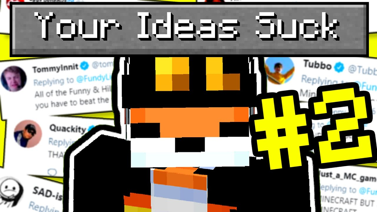 I made your dumb Ideas in Minecraft again…