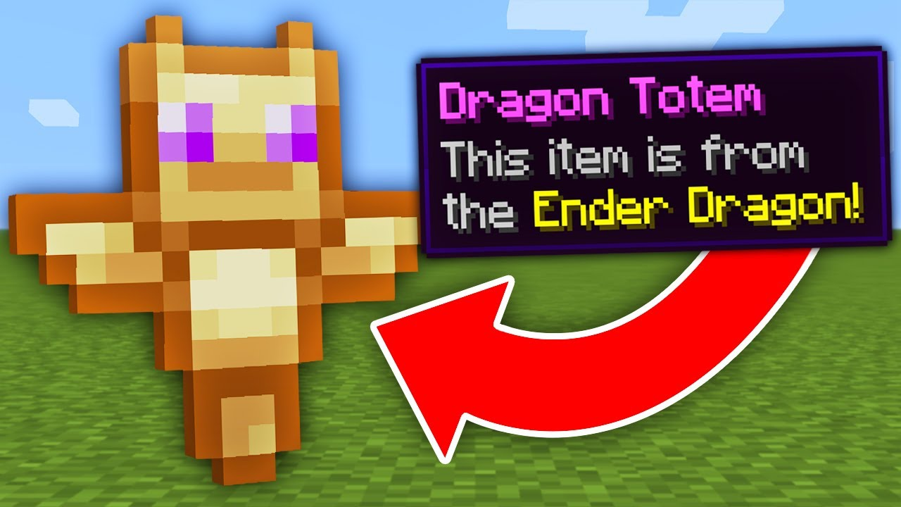 Minecraft, But There Are Custom Totems…