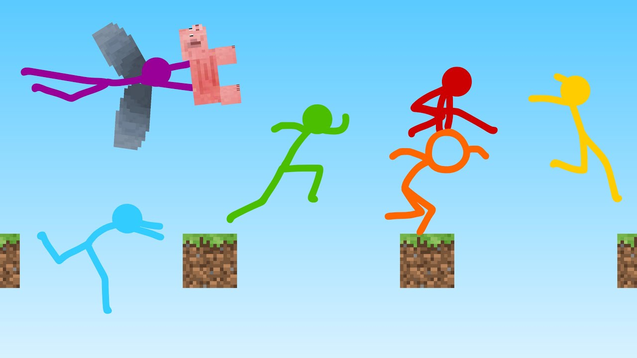 Parkour – Animation vs. Minecraft Shorts Ep. 22