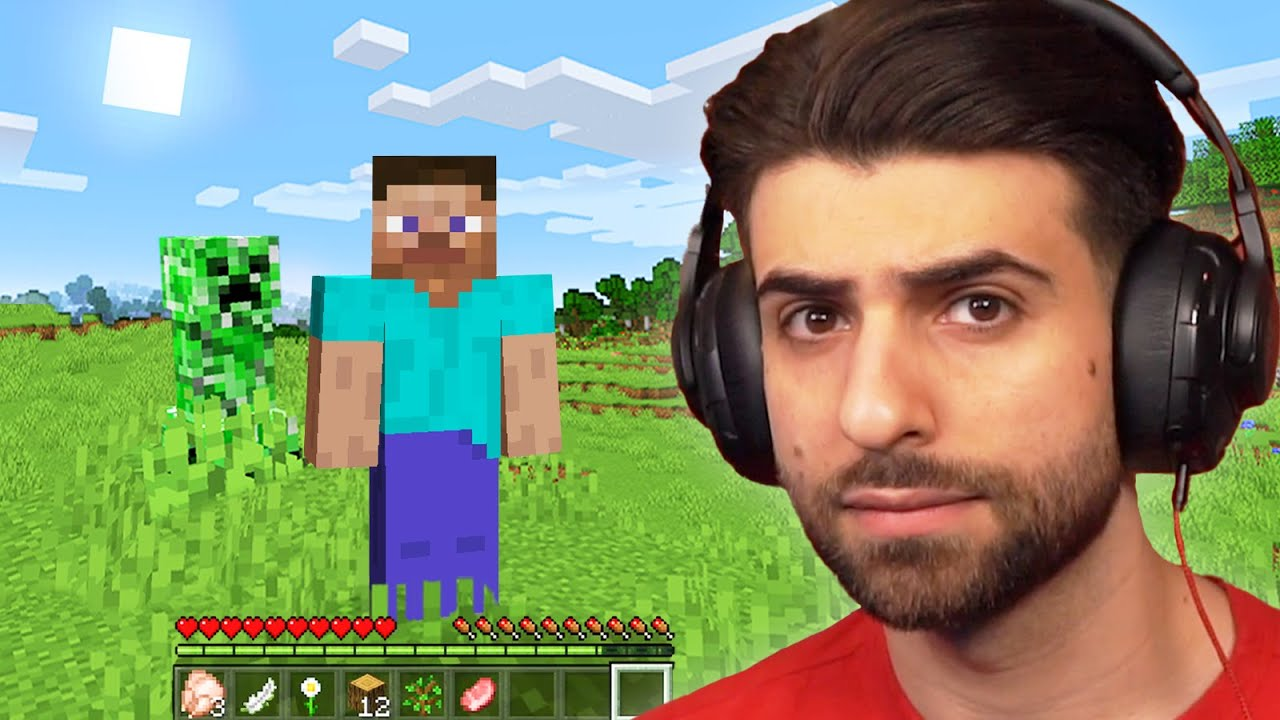 Playing Minecraft for the First Time EVER…
