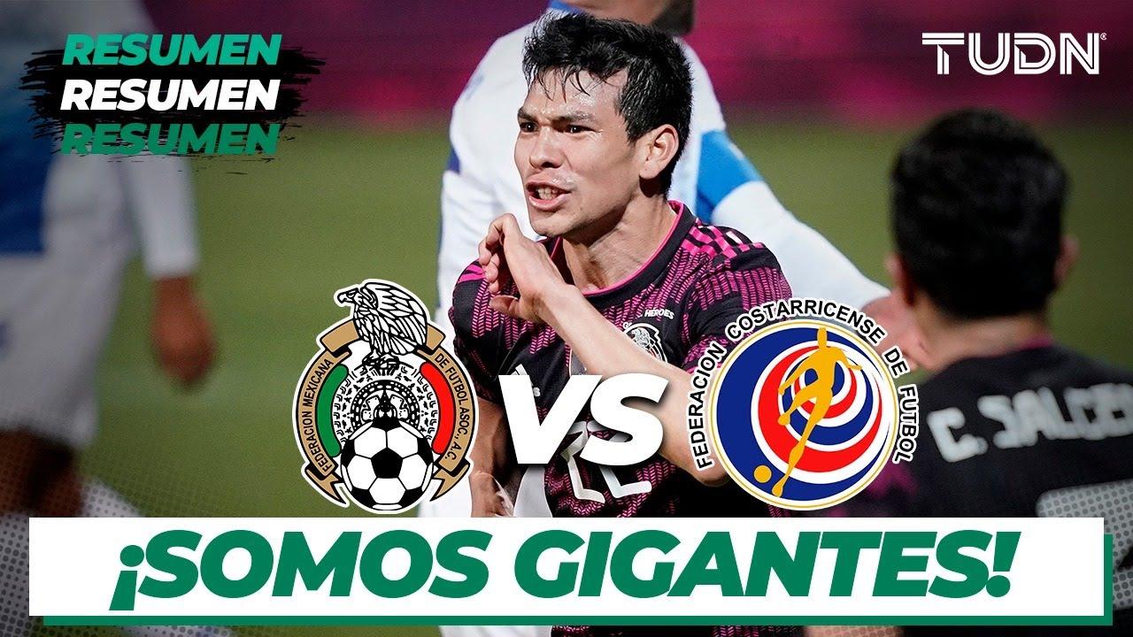 Resumen y goles | México vs Costa Rica | Amistoso Internacional 2021 | TUDN