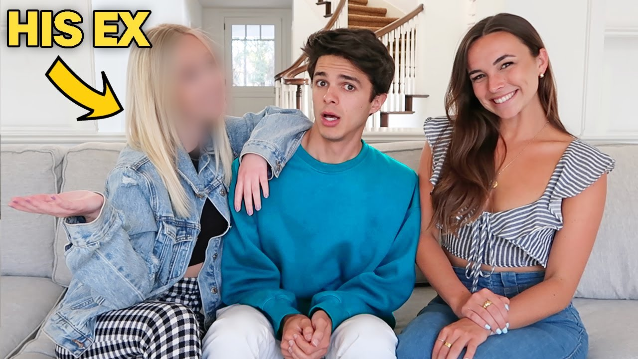 SURPRISING BRENT WITH HIS EX-GIRLFRIEND