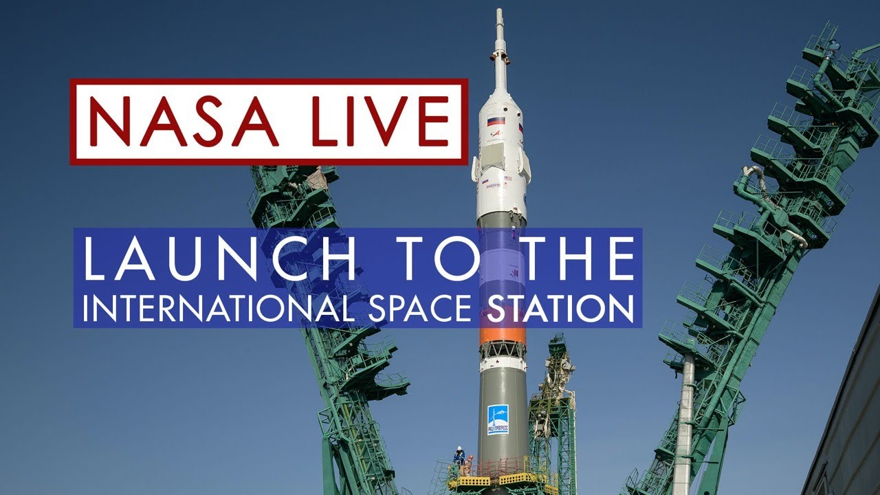 Soyuz Crew Launch to the International Space Station