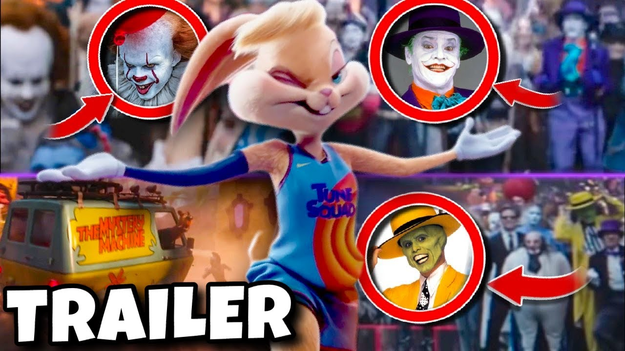 Space Jam 2 A New Legacy Trailer BREAKDOWN + Things You Missed (101 Easter Eggs)