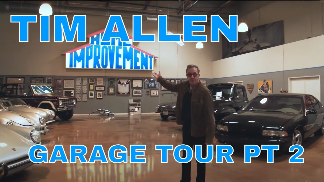 TIM ALLEN'S CAR COLLECTION TOUR | CELEBRITY GARAGE TOUR PT.2