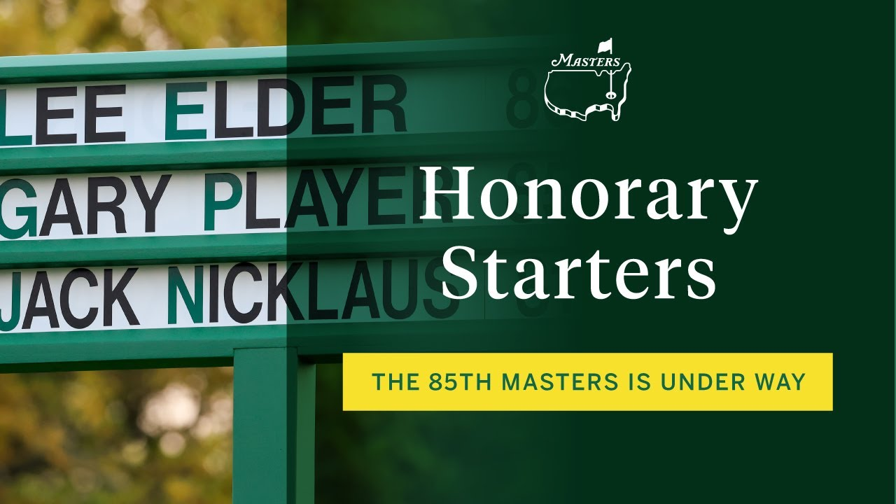 The Masters Honorary Starter Tradition