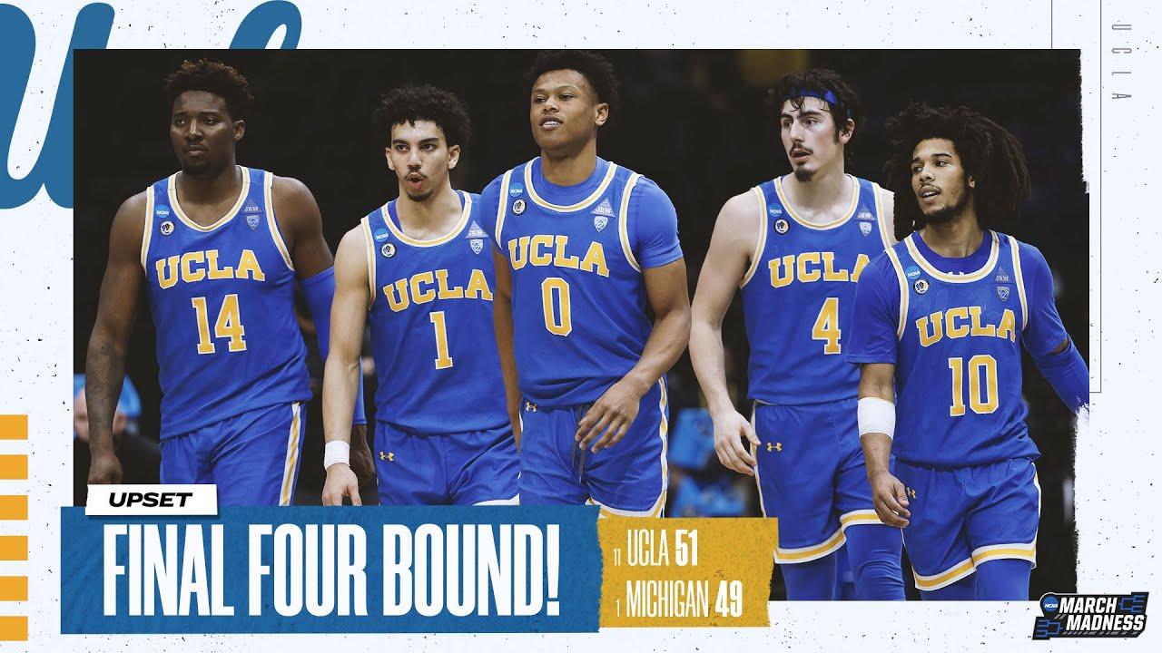 UCLA vs. Michigan – Elite Eight NCAA tournament extended highlights