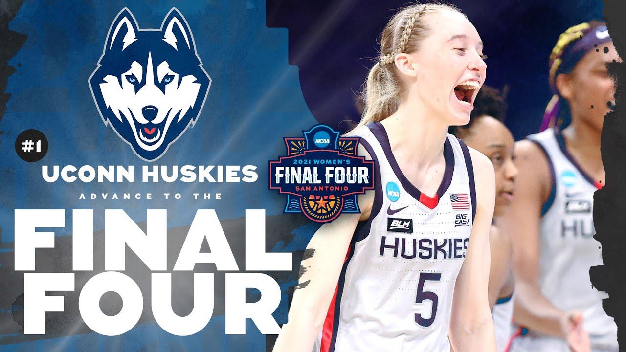 UConn vs. Baylor – Elite Eight Women's NCAA Tournament Extended Highlights