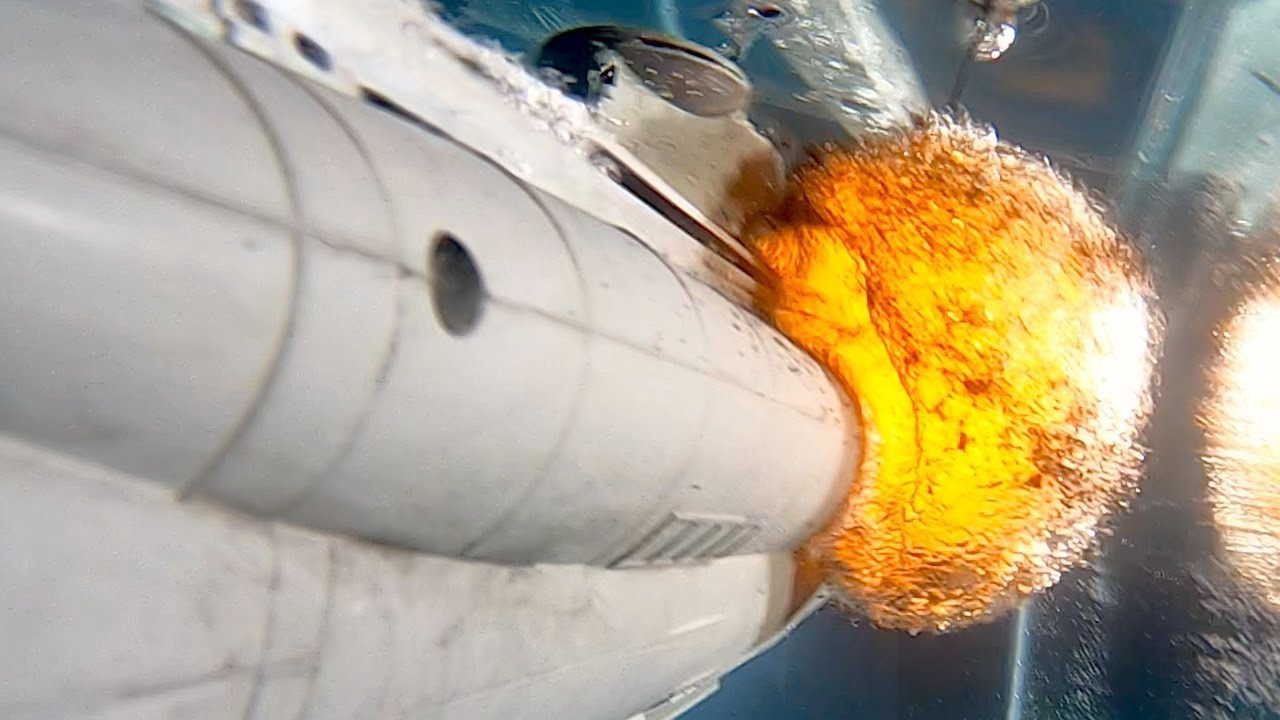 Underwater Submarine Explosion in Slow Mo – The Slow Mo Guys