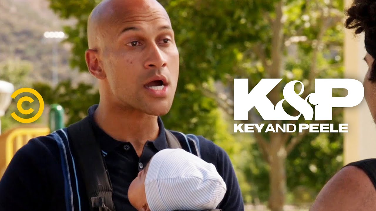 You Can't Fight a Guy with a Baby – Key & Peele