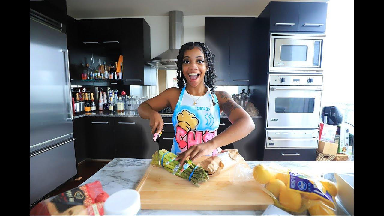 Cooking With De'arra   Chef D