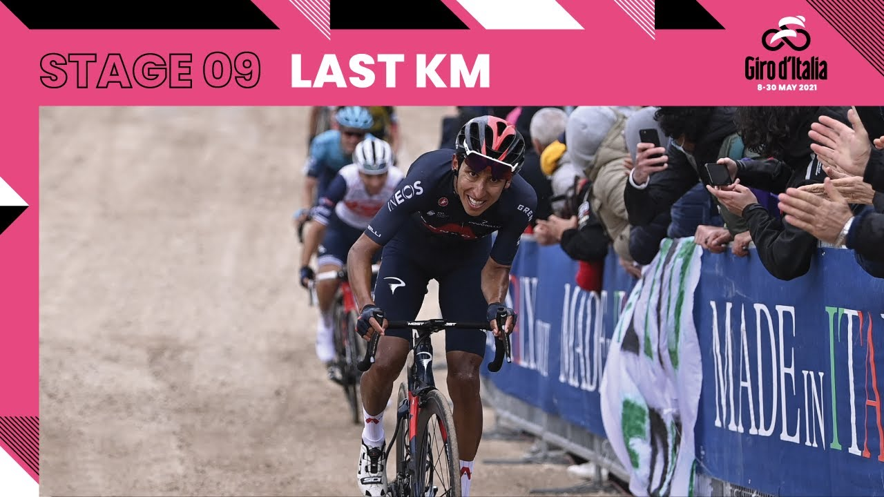 Giro d'Italia 2021   Stage 9   Last Km