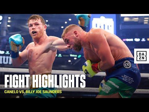 HIGHLIGHTS | Canelo Alvarez vs. Billy Joe Saunders