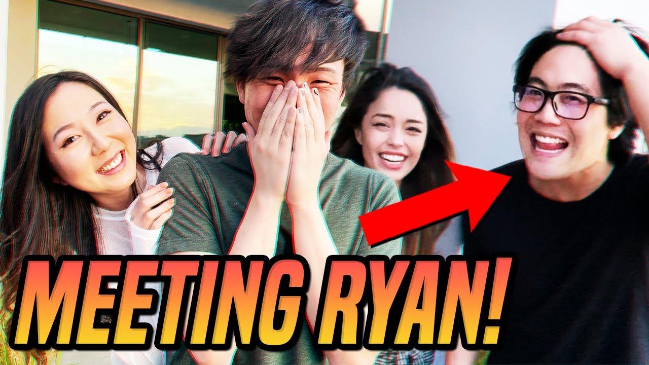 I finally met Ryan Higa… ft. Valkyrae, Sykkuno & friends