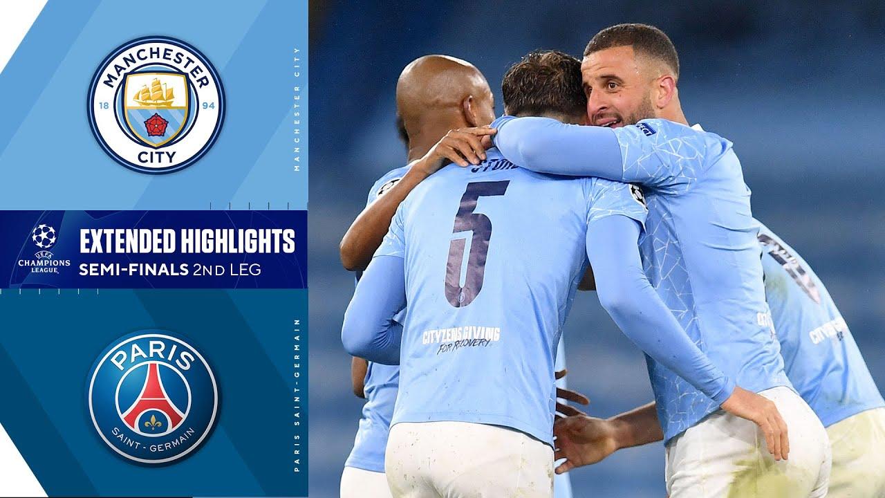 Manchester City vs. Paris Saint-Germain: Extended Highlights   UCL on CBS Sports
