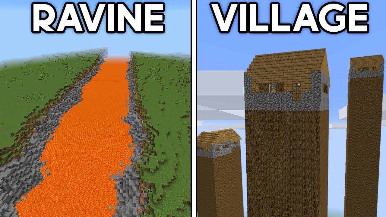 Minecraft's Most Unbelievable Seeds…