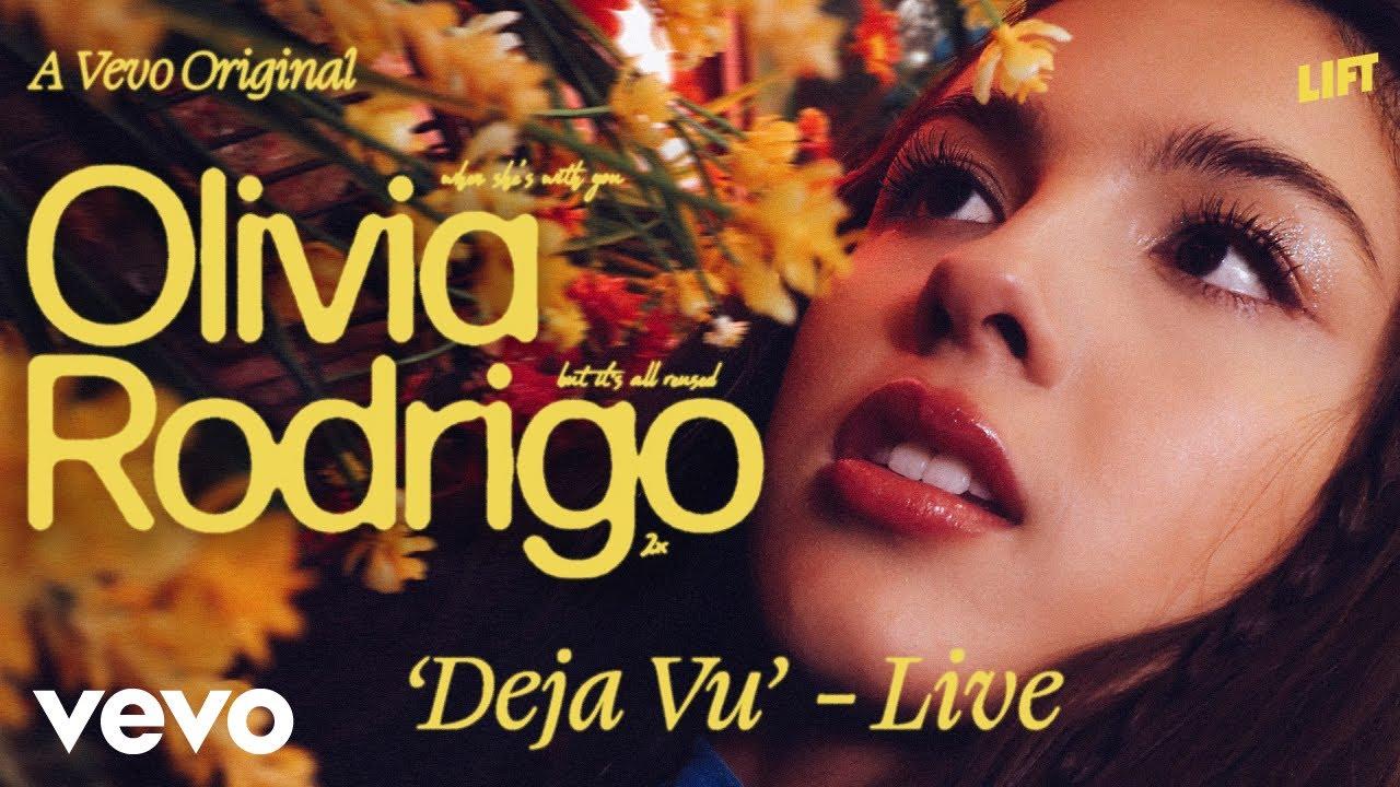 Olivia Rodrigo – deja vu (Live Performance) | Vevo LIFT